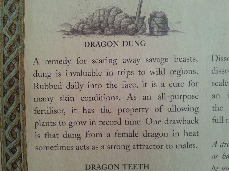 Uso del excremento de dragon propiedades de los dragones use of dragon dung properties