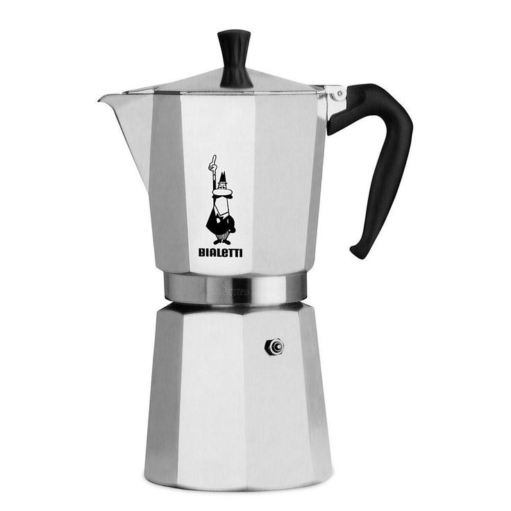 The Bialetti Express is the classic stovetop espresso maker. To produce fine espresso, you only need coffee, water, and a stove. You can take your beverage a step further by steaming some milk and making yourself a latte or flat white.