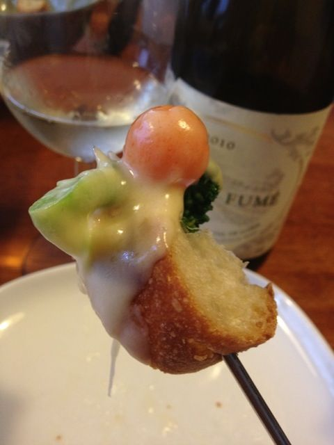 レシピとお料理がひらめくSnapDish - 5件のもぐもぐ - The organic vegi fondue - スイスでもこれ広めたい by Hitoshi Hokamura