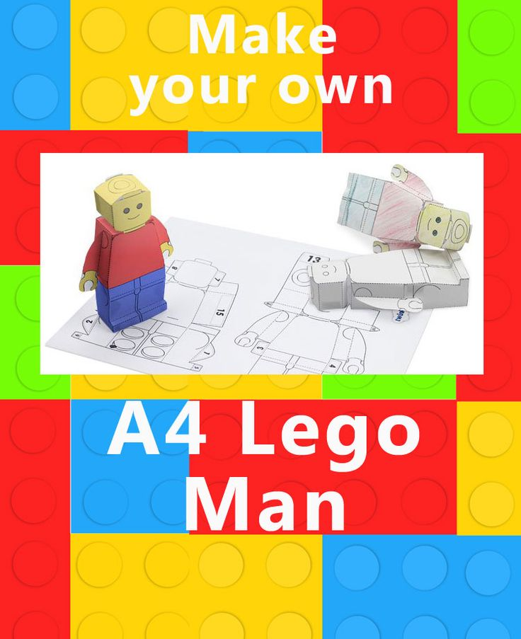 Make Your Own Lego Man 68
