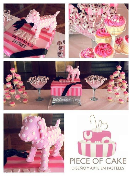 Victoria's Secret PINK  Por Piece of Cake Monterrey