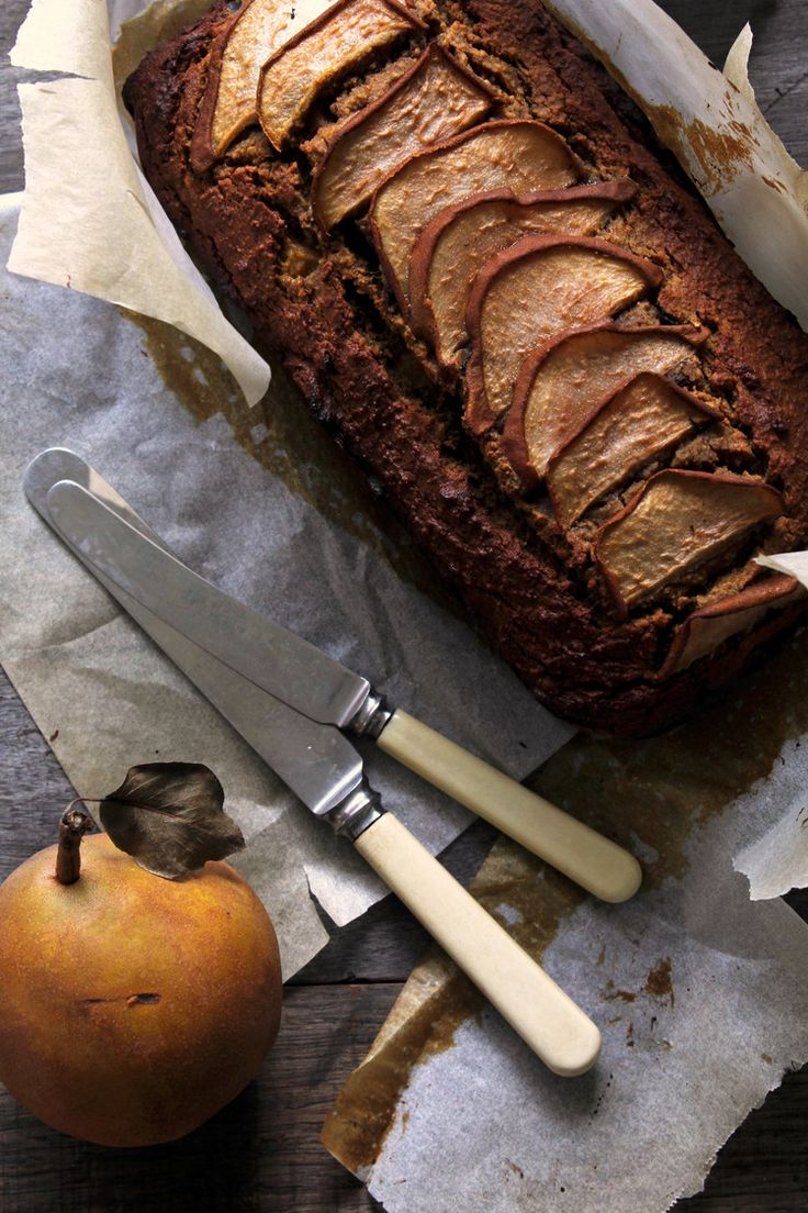 Rustic ginger, pear & buckwheat loaf — bonnie delicious