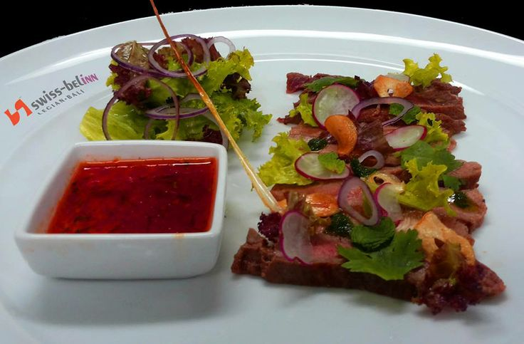 One more, if you're in Bali you can try our delicious Sirloin Strips at Swiss-Belinn Legian ;)