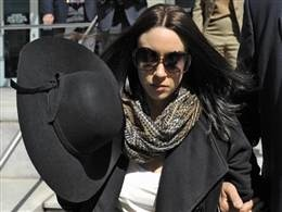 4/11/13 Casey Anthony was in court today over the rights to her life story.  Nearly two years after being acquitted in the murder of her 2-year-old daughter, Caylee, Casey Anthony is claiming she owes almost 800,000$. The bankruptcy trustee is now looking to repay her debts by auctioning off the rights to her life story, which her lawyers are fighting. NBC's Kerry Sanders reporting.
