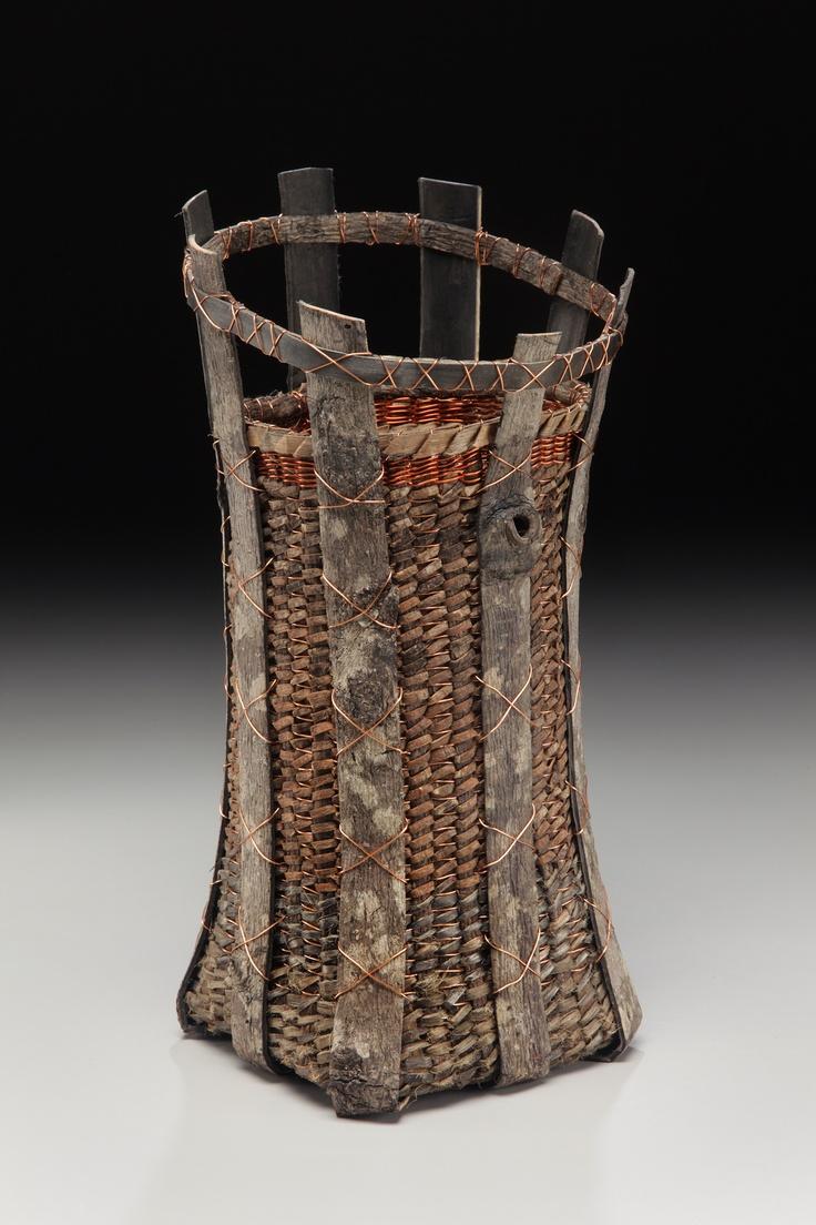 Woven Basket Art : Best images about fiber art on