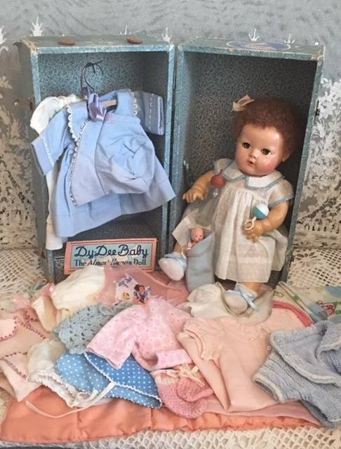 354 Best Dolls In Trunks And Boxes Images On Pinterest Vintage