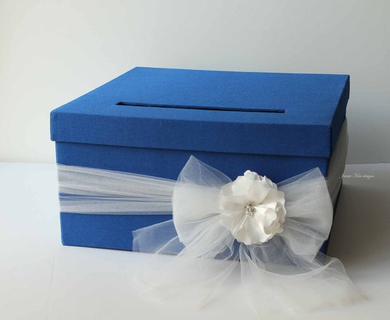 Wedding Card Box DIY Set Up A Small Table With The And Blank