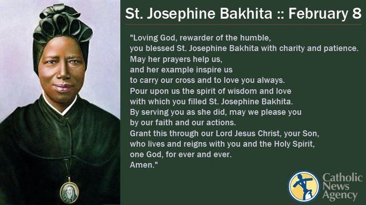 st. josephine bakhita feast day - Google Search