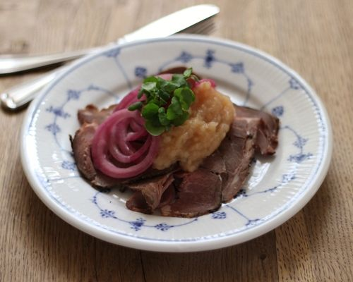 Lam roastbeef frokost smørrebrød københavn restaurant kronborg