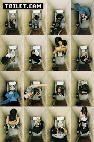 Sixteen Scenarios in a Toilet~Toilet Cam Poster