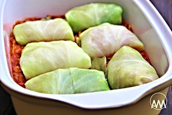 Recept na Golubce (plněné zelné listy)