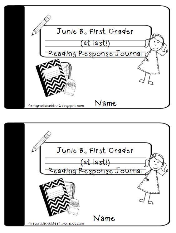 First Grade Buddies: Junie B. Reading Response Journal Freebie