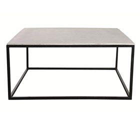 sofabord - bordplade fiber beton - 100 x 100 cm 4395kr