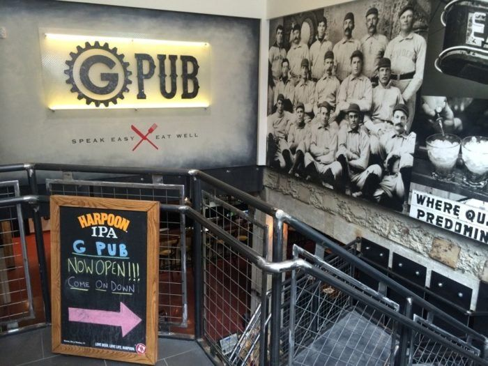 Gpub Is A Restaurant Located Inside Providence G A Historic Downcity Development The Pub Is Located On The Basement Level Entire Pub Underground Rhode Island