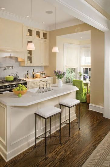 Best Cream Cabinets With White Countertops Off White Kitchens 400 x 300