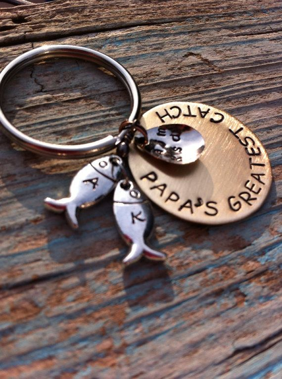 Daddy's Best Catch Father's Day grandfather by MamaDramaJewelry, $29.00