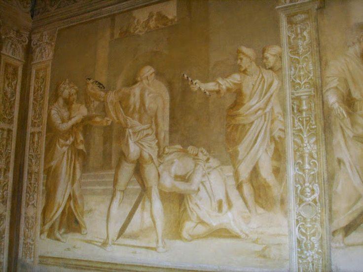 Decollazione del Battista (1523; Chiostro dello Scalzo)