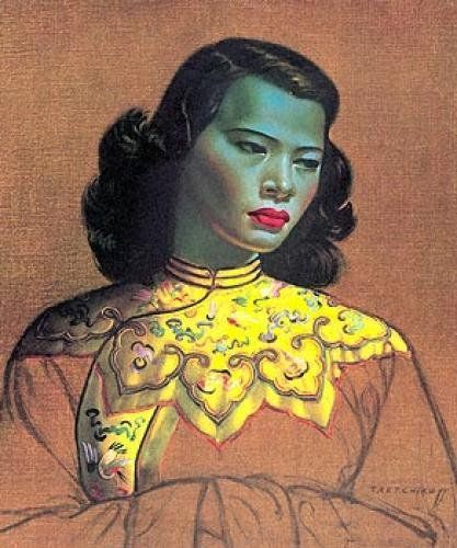 The Chinese Girl by Vladimir Tretchikoff