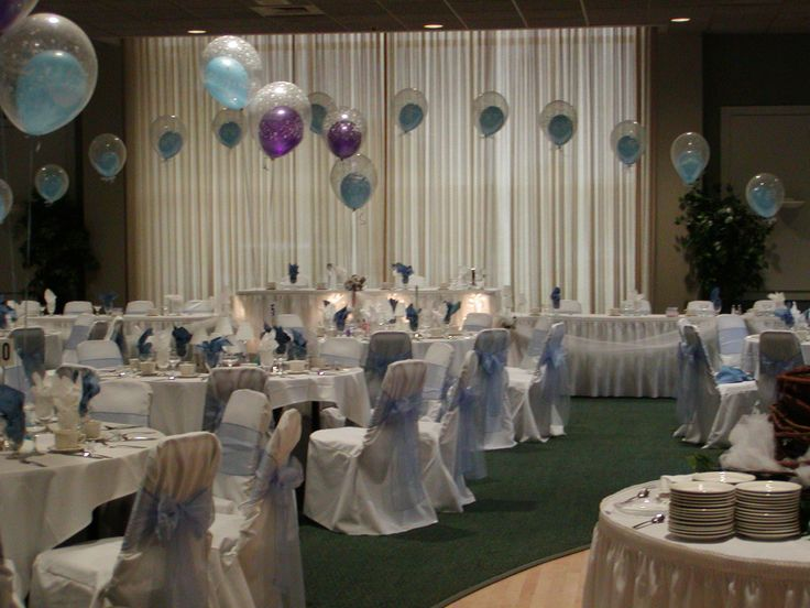 17 best ideas about wedding reception balloons on for Balloon decoration for wedding reception