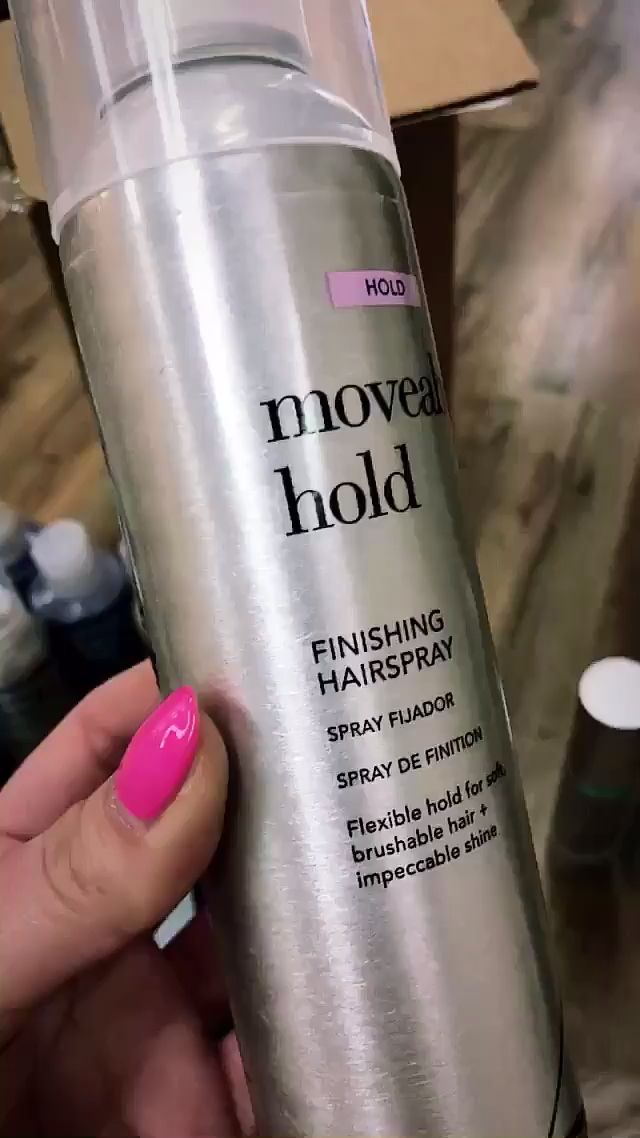 Moveable Hold Hairspray is perfect for your soft curls, beachy waves and beautiful wavy styles. It's going to provide hold without making your hair stiff or crunchy... 💋❤️ We LOVE, LOVE, LOVE that we can still run a brush through our hair after spraying it in... and it looks super soft and moveable! ✨  USE CODE: BROCATO20 for an additional 20% off hair care & styling product purchases of $100 or more. Valid thru 4/14/20. Available on Amazon.