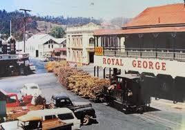 ROYAL GEORGE HOTEL/NAMBOUR 4560 QLD AUSTRALIA 1950'S