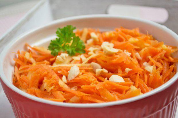 Karotten - Apfelsalat