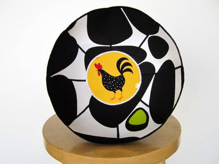 "Marimekko ""Bonbon"" fabric bowl. $39.00, via Etsy."