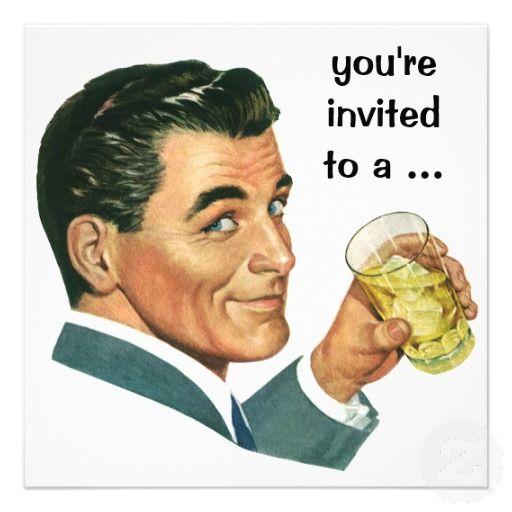 adult male birthday invitations - Google Search