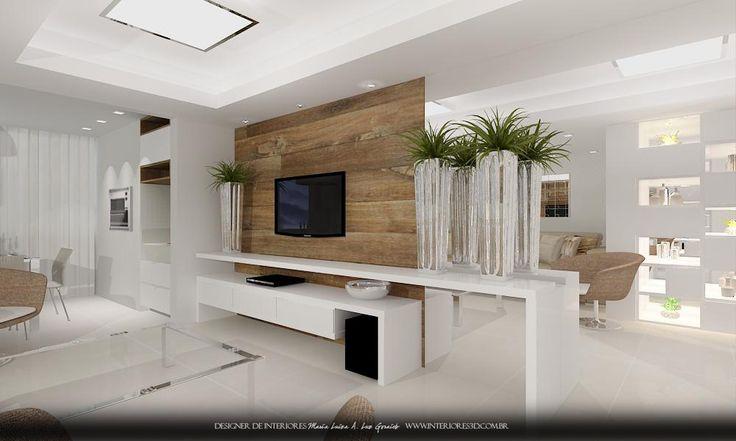 ideias e projetos de decoracao de interiores:Entrada De Sala