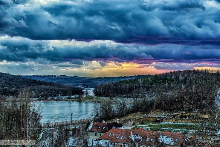 Ha lemegy a nap Szálka, Tolna, Hungary.