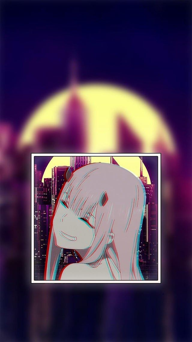 Just Made This Wallpaper Hope Y All Like It Zerotwo Cute Anime Wallpaper Cool Anime Wallpapers Anime Background