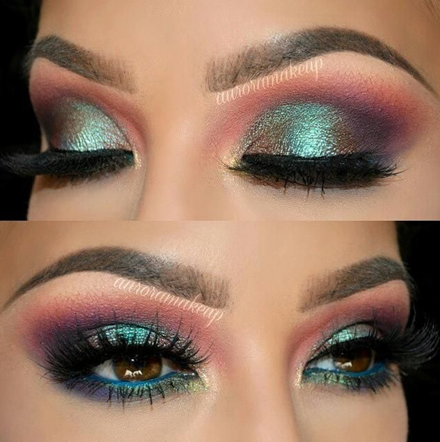 3 Amazing Makeup Looks That'll Blow You Away! Amazing smokey eye from auroramakeup!