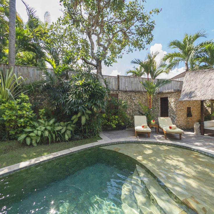 Villa 11 pool at Villa Kubu, Seminyak, Bali