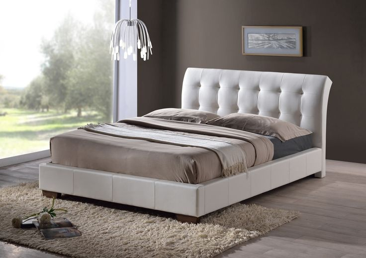 The Boston Bed has a contemporary design which has been perfectly crafted from a high quality faux leather.