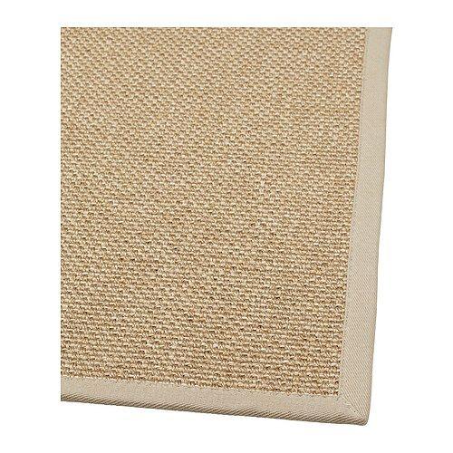 EGEBY Tapete, tecelagem plana IKEA O tapete é resistente e duradouro, porque é feito de sisal, uma fibra natural proveniente do agave.