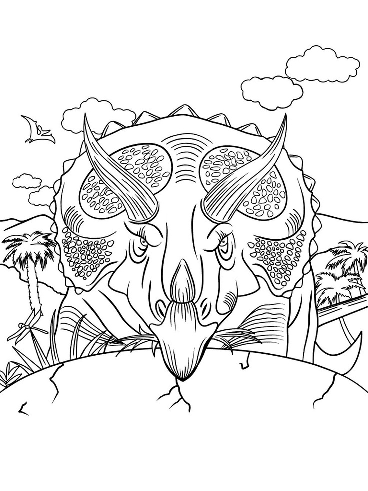 Coloring Book Dinosaurs For IPad