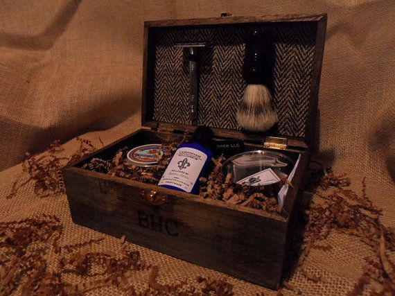 Shave Kit Vintage Look Shave Kit for Men by CardinhamKilligrew