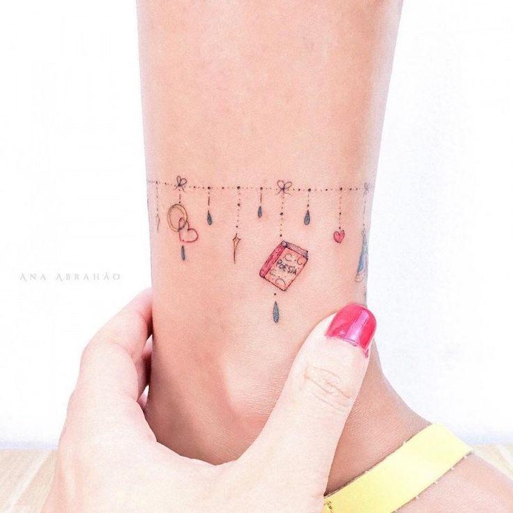 2344 best tattoos images on pinterest tattoo ideas tattoo designs and design tattoos - Tatouage cheville femme ...