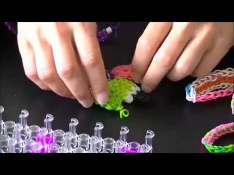 Станок для плетения браслетов из резинок радужки