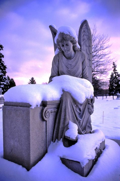 """Marker- """"Fritz's Angel"""" Grand Rapids, Michigan. Cemetery Photo. http://www.thefuneralsource.org/cemloc.html"""
