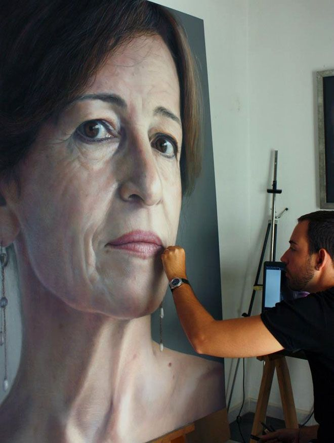 Best Art Hyper Realism Images On Pinterest Hyperrealism Oil - Artist creates stunning hyper realistic paintings of women