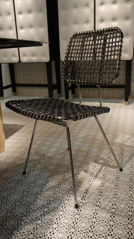 Awesome Milano For 2013 Brick 23 Chair In Rawhide Grey Leather By Paola Navone For  Gervasoni.