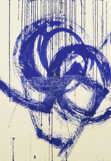 """Saatchi Art Artist Jieun Park; Painting, """"135. 4H30-Paris"""" #art"""