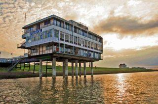 Eemshotel in Delfzijl, Nederland / Niederlande / Netherlands / Pays-Bas