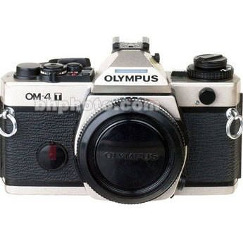 Olympus OM-4T (Titanium) 35mm SLR Manual Focus Camera Body (Titanium Finish)