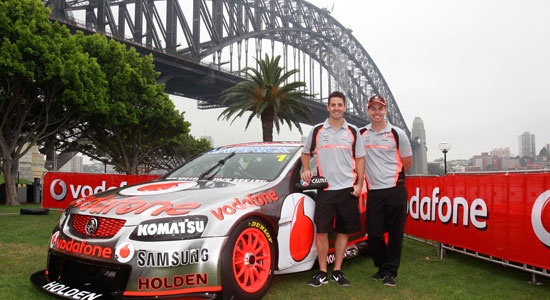 TeamVodafone Unveils Farewell Livery For Sydney Final
