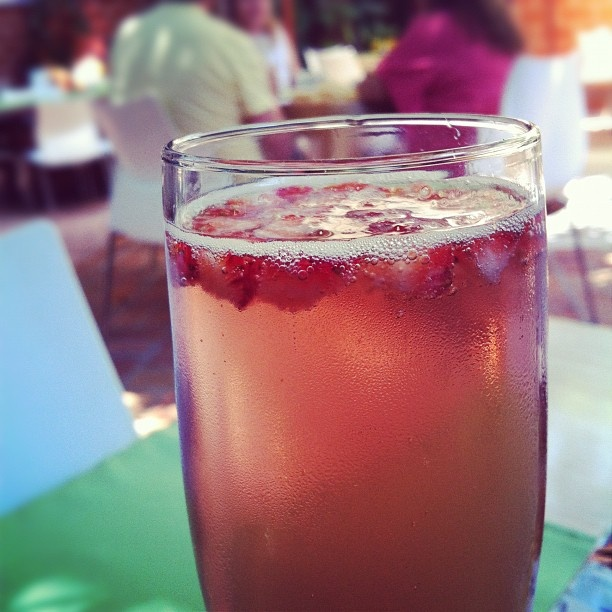 #Mimosa de fresa en Coco´s Kitchen #PuertoVallarta