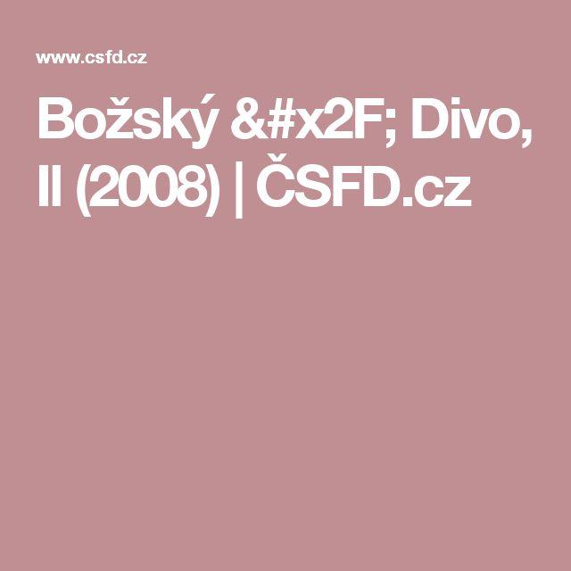 Božský / Divo, Il (2008) | ČSFD.cz