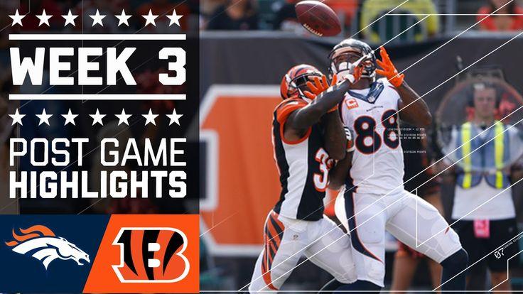 Broncos vs. Bengals (Week 3) | Post Game Highlights | NFL