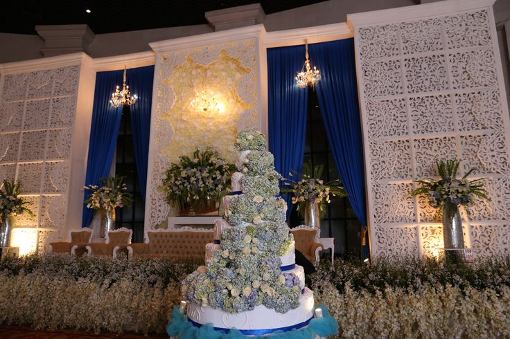 Royal Blue Wedding Reception of Jessica and Willi - RESEPSI 03_0019-min